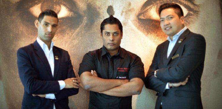 The Master Trio: Chad Cleote, Chef Rukmal, & Edwin Sarmiento