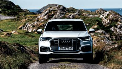 Luxury suv Audi Q7