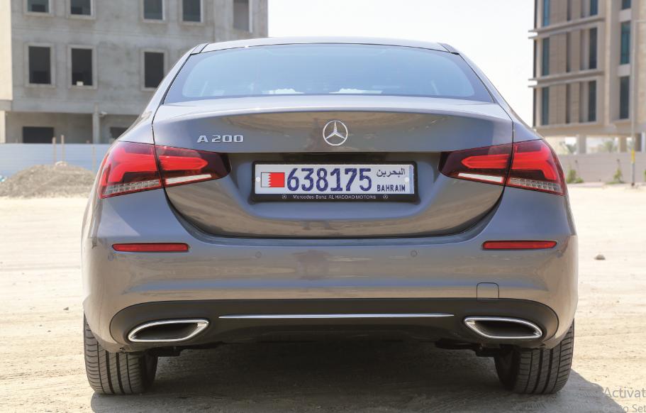 Not a hatch! Mercedes-Benz A-Class Sedan 2020